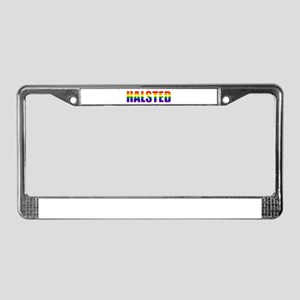 Halsted Pride License Plate Frame
